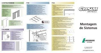 Catálogo Sistema de Montagem Drywall - Cemear.com.br