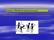 Métodos de búsqueda informados - Inteligencia Artificial 2010