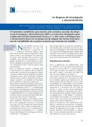 As despesas de investigação e desenvolvimento - Ordem dos ...