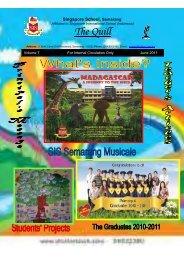 Newsletter 2011 - SIS Semarang