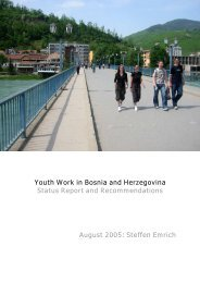 Youth Work in Bosnia and Herzegovina Status Report and ... - Home