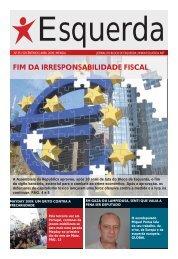 FIM DA IRRESPONSABILIDADE FISCAL - Esquerda.net