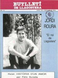 Octubre 1989 - Arxiu - Ajuntament de Llagostera
