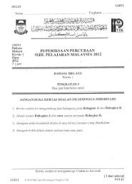 kertas 1 & 2 - PHILOSOPHIA BAHASA MELAYU