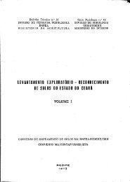 levantamentq exploratörio - reconhecimento de solos do estado 00 ...