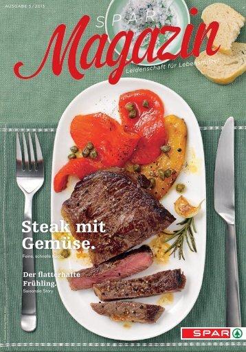SPAR Schweiz - Magazin 03/13