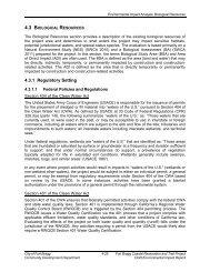 Coastal Trail DEIR - Chapter 4 - 4.3 - Biological Resources Part I