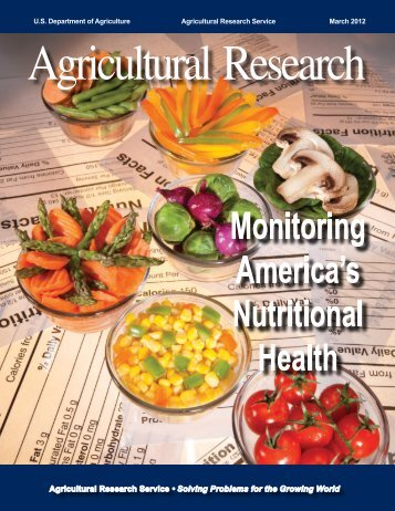 March 2012 issue (PDF publication) - Agricultural Research Service ...