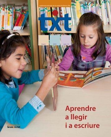 Aprendre a llegir i a escriure - Edicions bromera