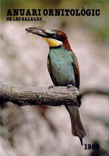 anuari ornitològic - Biblioteca Digital de les Illes Balears - Universitat ...