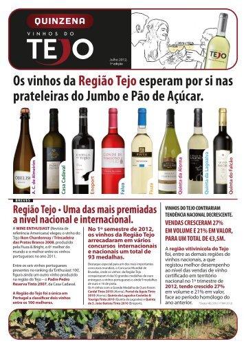 Região Tejo • Uma das mais premiadas a nível ... - Vinhos do Tejo