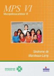 Síndrome de Maroteaux-Lamy - Rede MPS Brasil - Ufrgs