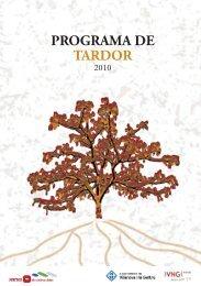 PROGRAMA DE TARDOR - Ajuntament de Vilanova i la Geltrú