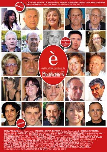 COMIAT FECUND Joan Bauçà, pàg. 2 | PENSAR ... - Ajuntament