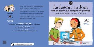 La Laura i en Joan amb els secrets que amaguen les paraules
