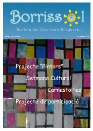"""L' ESCOLA AVUI Projecte """"Pintors"""" Setmana Cultural ... - Xtec"""