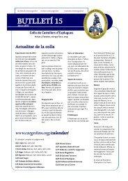 BUTLLETÍ 15 - Colla de Castellers d'Esplugues