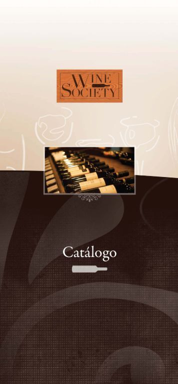 Catálogo PDF - Wine Society