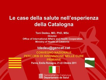 Catalan Healthcare System - Saluter
