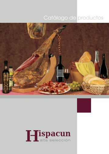 Descarga nuestro catálogo en PDF - Hispacun
