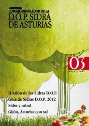 Nº 3 de nuestra revista - Sidra de Asturias