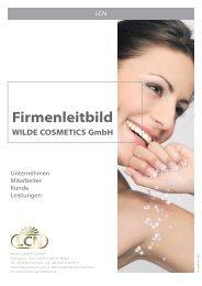 Firmenleitbild - Wilde Cosmetics GmbH