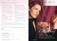 Einladung - Wilde Cosmetics GmbH