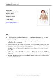 Reavis Hilz-Ward Profil - Interprojects