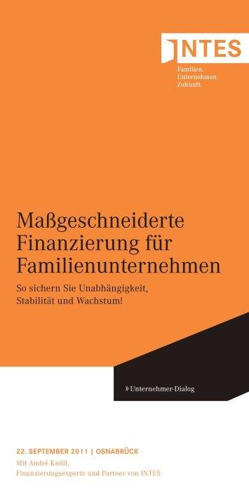 Massgeschneiderte Finanzierung_22092011.pdf - INTES