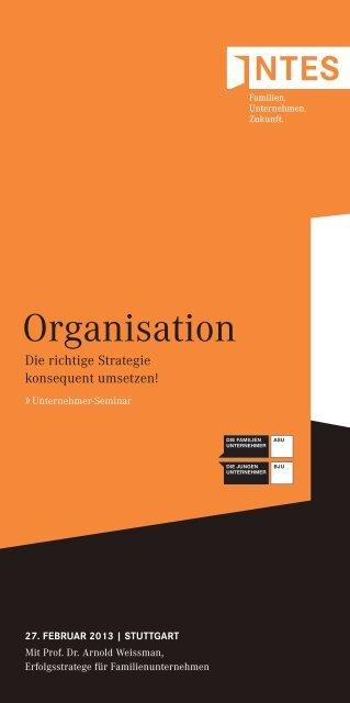 Organisation - INTES