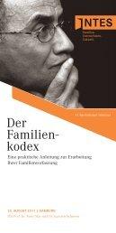 Der Familien- kodex - INTES