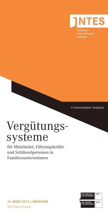 Vergütungs- systeme - INTES
