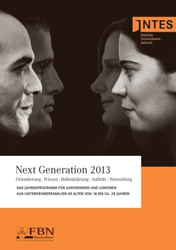 Next Generation 2013 - INTES