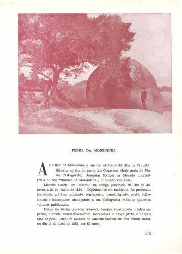 Pedra da Moreninha, por Charles Julius Dunlop - Páginas