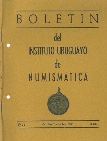 Nº 31 - Monedas del Uruguay