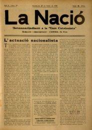 L' actuació nacionalista - Dipòsit Digital de Documents de la UAB