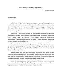 FUNDAMENTOS DE SEGURANÇA SOCIAL - AOPMBM