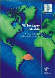 VIII Sondagem Industrial - 2003_2004 - Fiep