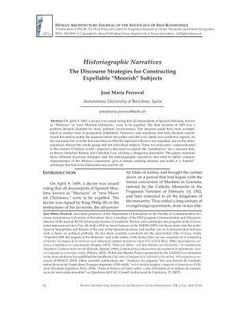 83—Historiographic Narratives - OKCIR