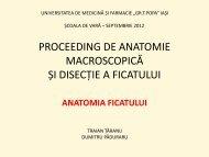 proceeding de anatomie macroscopica - Gr.T. Popa