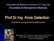 Prof.Dr.Ing. Anca Galaction - Gr.T. Popa