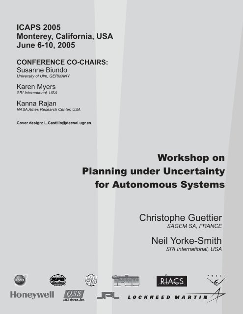 ICAPS05 WS6 - icaps 2005
