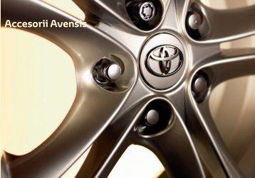Accesorii Avensis - Toyota