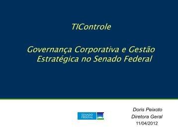 Proposta de Programa de Governança ... - Senado Federal
