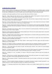 Artigo3: As regras de J. Cramer - Bolsa de Valores PE