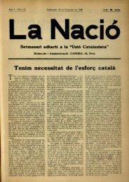 Tenim necessitat de l'esforç català