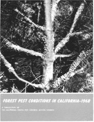 highlights of pest conditions - USDA Forest Service - US Department ...