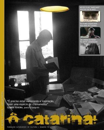 O catarina! - Fundação Catarinense de Cultura