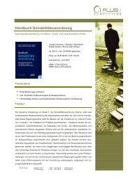 Handbuch Solvabilitätsverordnung - 1 PLUS i GmbH