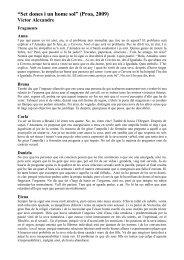 """""""Set dones i un home sol"""" (Proa, 2009) Víctor Alexandre - Grup 62"""